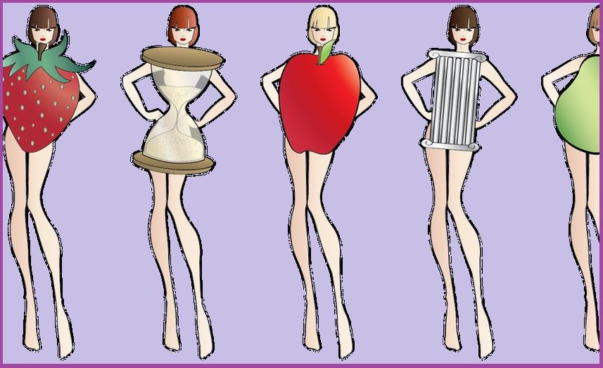 دليلك الشامل لمعرفة شكل جسمك – انواع جسم المرأة