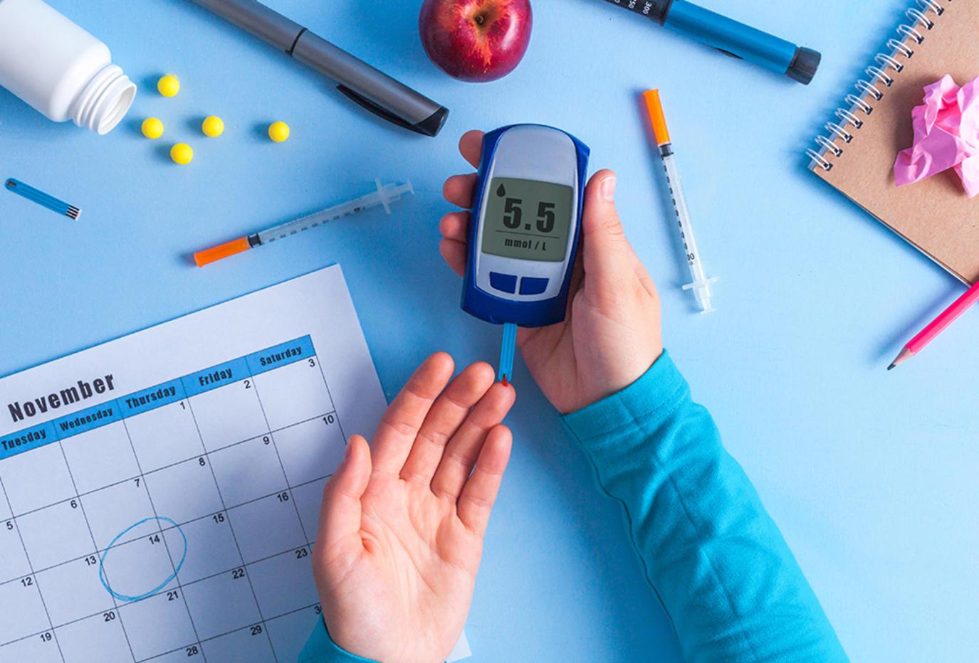 دراسة: داء السكري مرض يمكن تجنبه